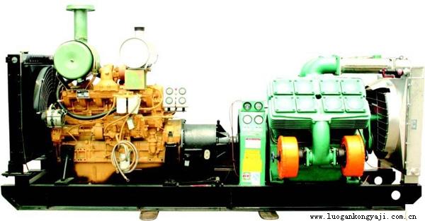 压缩机-供应固定式柴油活塞空压机vf-6/7-c-中华机械